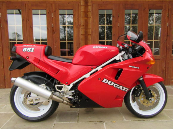 Ducati 851 S3 Mono – Only 6700 Miles, Stunning Collector Bike