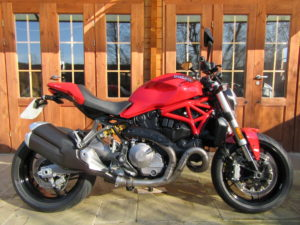 Ducati Monster 821- Only 2050 Miles, FSH, SORRY – NOW SOLD!!