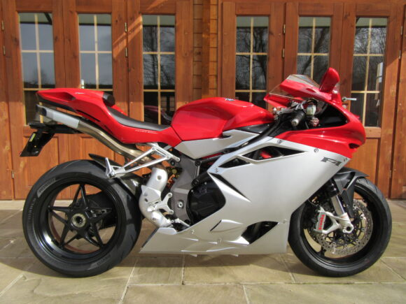 MV Agusta F4 1000R – Only 11,200 Miles, SORRY – NOW SOLD!!