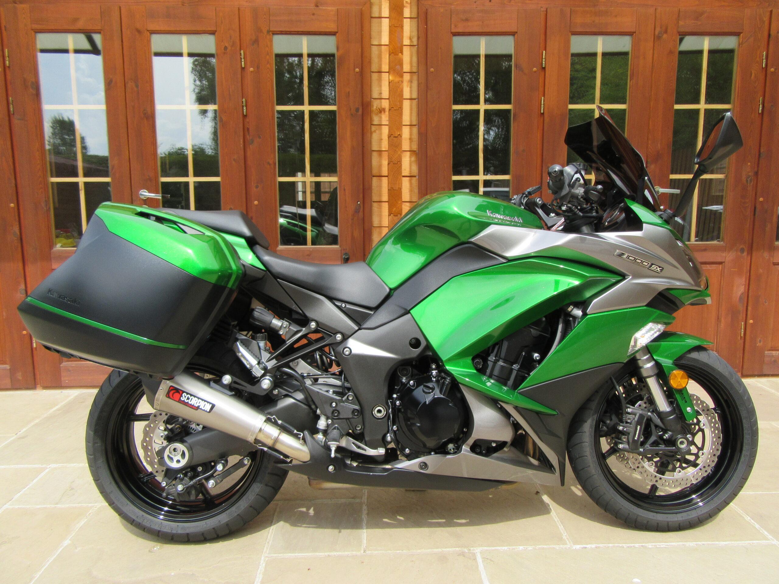 Kawasaki Z1000 SX Tourer – Only 4350 Miles, SORRY – NOW SOLD!!