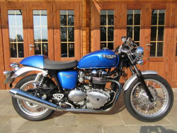2007/57 Triumph Thruxton 900 – Only 6500 Miles, FSH + Spec